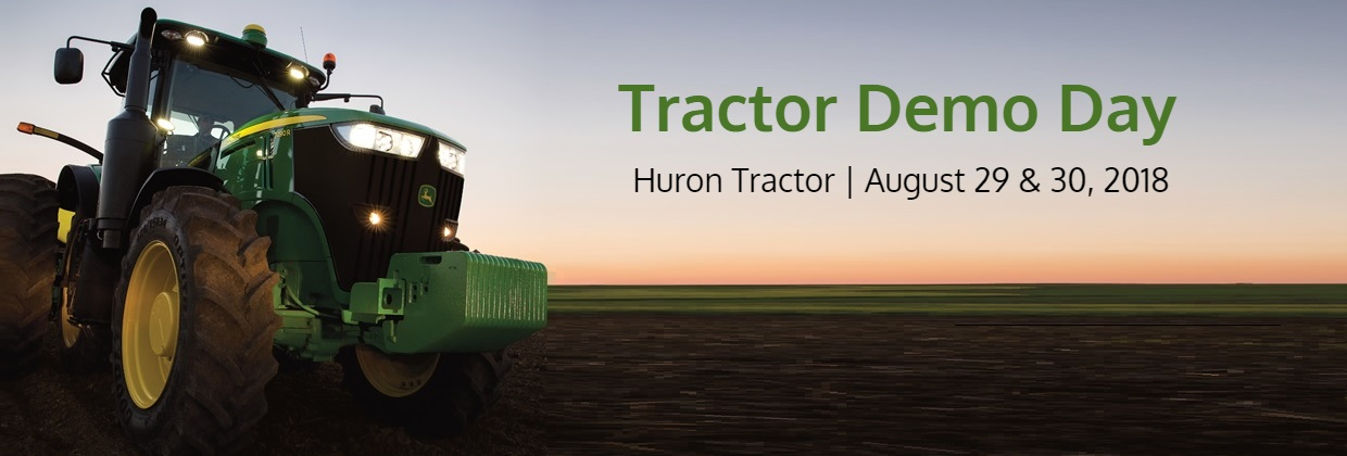 Tractor Demo Day Web Banner