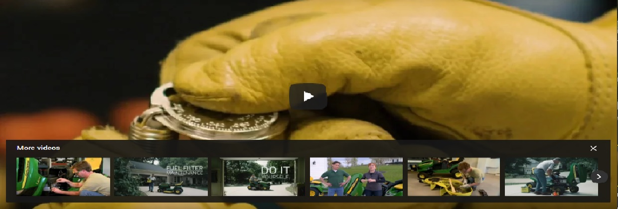 John Deere DIY Maintenance Videos