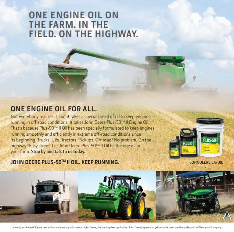 JD Oil & Filter Sale ad picture for website