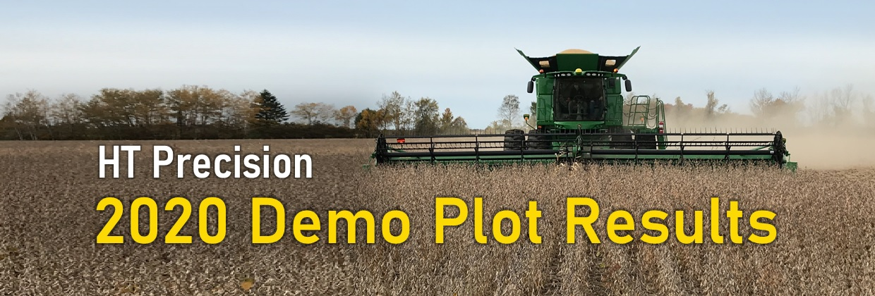 2020 Demo Plot Results banner