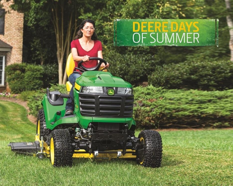 2021-06 Deere Days of Summer - Garden Tractors