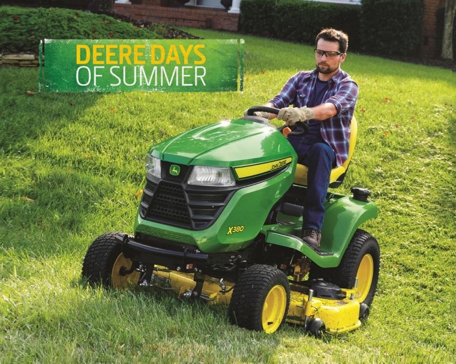 2021-06 Deere Days of Summer - Lawn Mowers