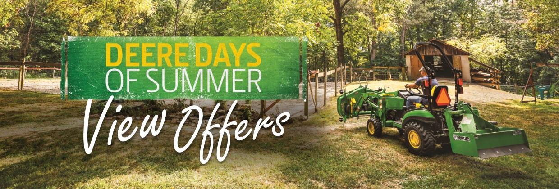 2021-06 Deere Days of Summer banner